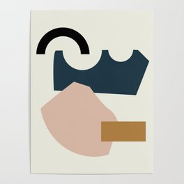 Shape Study #29 - Lola Collection Poster