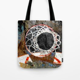 Basketball art swoosh 80 Tote Bag