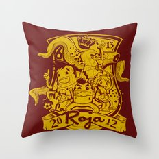 La Roja Throw Pillow
