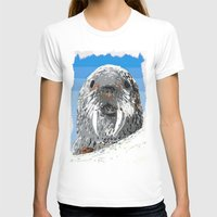 walrus T-shirts featuring Walrus by wingnang