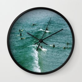 Toy Surf Wall Clock