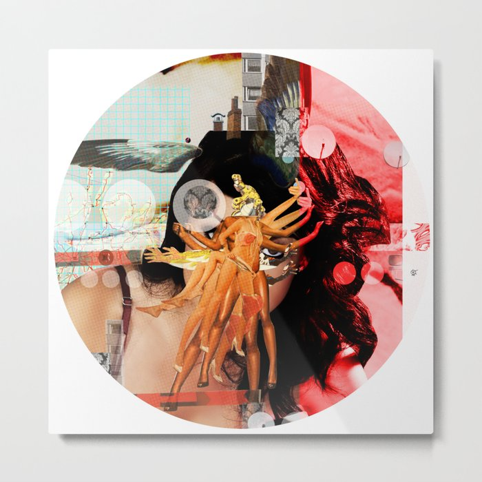 Wild Mountain · Great Balls Of Fire · Detail Variation 2 Metal Print