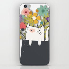 The Cat Is Back iPhone Skin