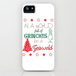 Be a Grisworld iPhone Case