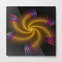 Super Slinky Metal Print