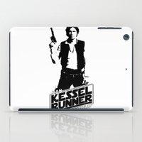 han solo iPad Cases featuring Han Solo-Kessel Runner by IIIIHiveIIII