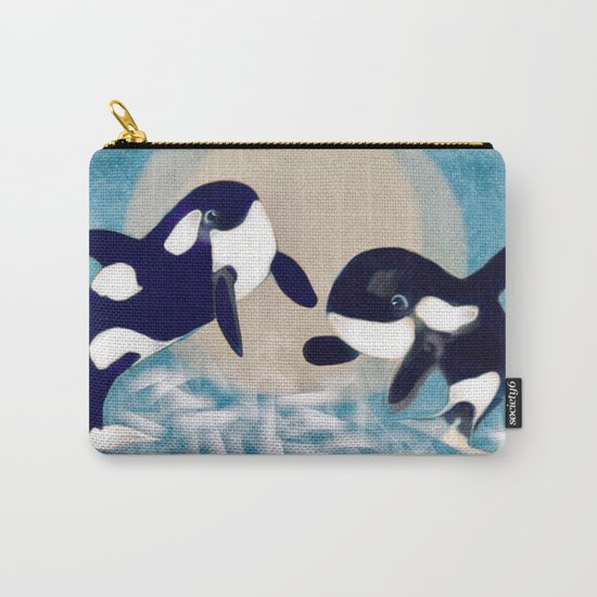 Whale dance Carry-All Pouch