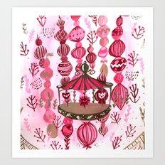 Feria de las Flores Part Deux Art Print
