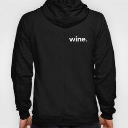 wine. Hoody