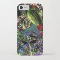 teenage mutant ninja turtles iPhone & iPod Cases featuring Teenage Mutant Ninja Turtles by artbywilliam