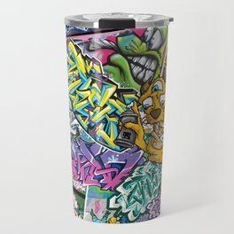 PAGER Collage Royal Stain Travel Mug