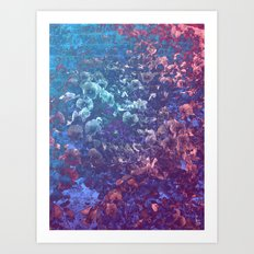 Submerged Life Art Print