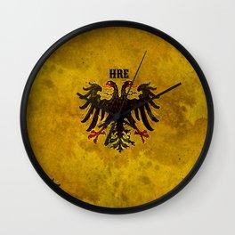 Holy Roman Empire Wall Clock
