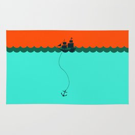 Ship Trapped Rug