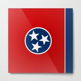 Flag of Tennessee Metal Print