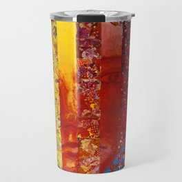Conundrum I - Abstract Rainbow Goddess Travel Mug