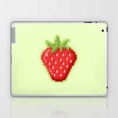 Pixel Strawberry Laptop & iPad Skin