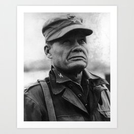 """Colonel Lewis """"Chesty"""" Puller - 1950 Art Print"""