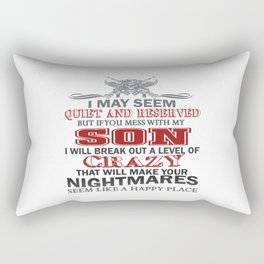IF YOU MESS WITH MY SON Rectangular Pillow