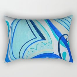 Joyful Chaos Rectangular Pillow