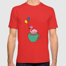 Flamingo Coffee T-shirt