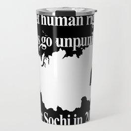 Boycott Sochi Travel Mug