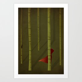 Little Red Riding Hood - NO TEXT Art Print