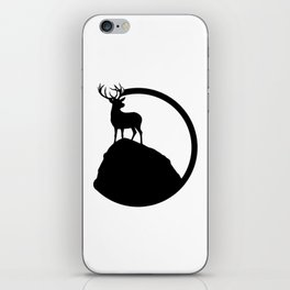 deer pose iPhone Skin