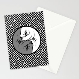Way of the Fist Stationery Cards