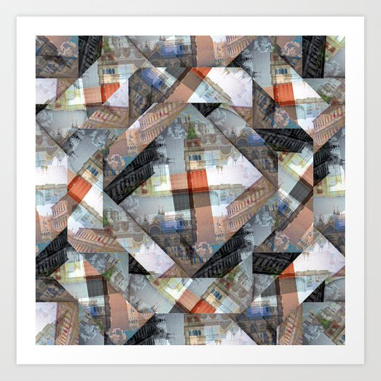 Wednesday 27 March 2013: imagined and solidified, seemingly apt, intemporal Art Print