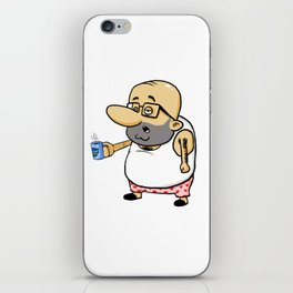Pepe desayuno iPhone Skin
