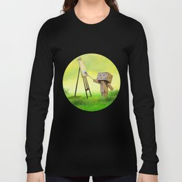 Danbo the artist Long Sleeve T-shirt