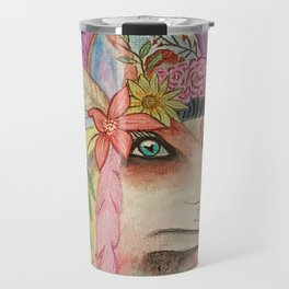 Foxy Feathers Travel Mug