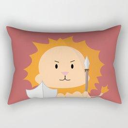 Lion - Fierce  Rectangular Pillow