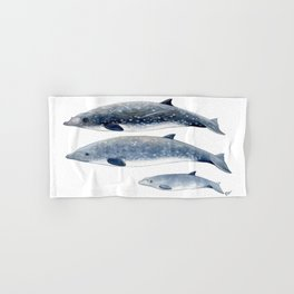 Blainville´s beaked whale Hand & Bath Towel