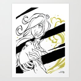 Inktober : Swift Art Print