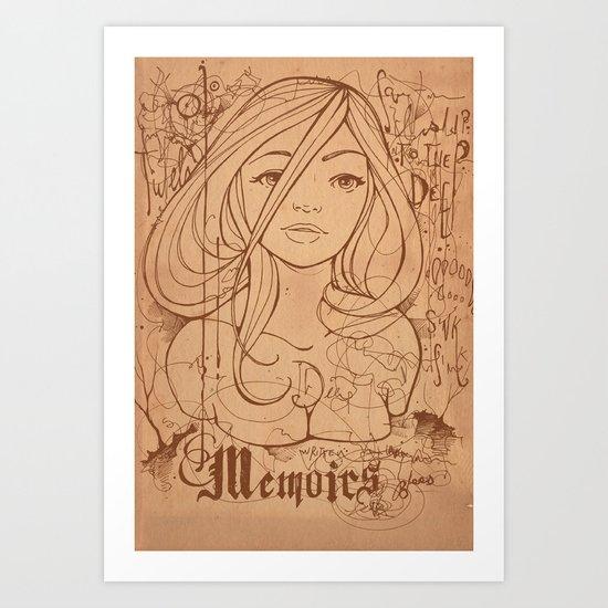Memoirs Art Print