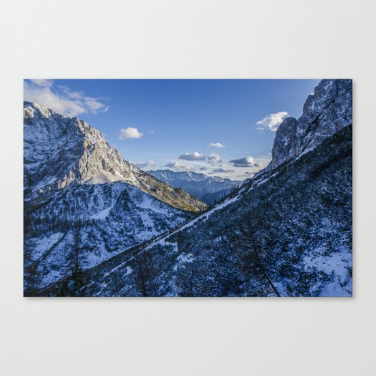 Cold Mountains Canvas Print