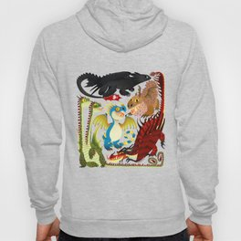 HTTYD- Dragons/Toothless and gang Hoody