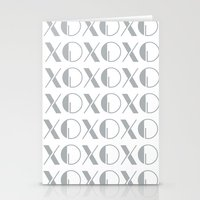 xoxo Stationery Cards featuring XOXO by Zen and Chic