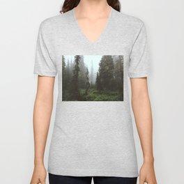 Rainier Forest Unisex V-Neck