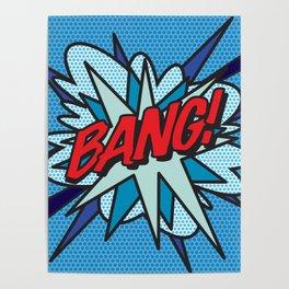 Comic Book BANG! Poster