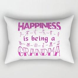 Happiness is Being a GRANDMA Rectangular Pillow