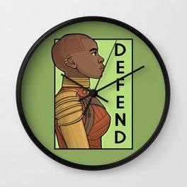 Defend Wall Clock