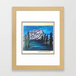 """"""" Keep Climbing"""" Framed Art Print"""