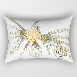 Floating Lionfish Rectangular Pillow