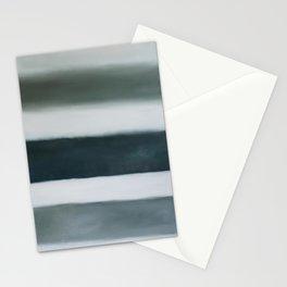 grey strata Stationery Cards
