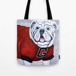 Georgia Bulldog Uga X College Mascot Tote Bag