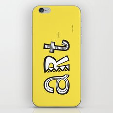 art just is. iPhone & iPod Skin