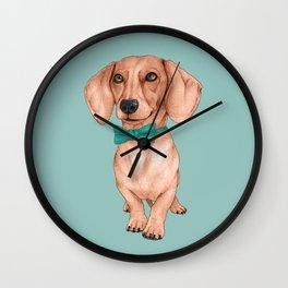 Dachshund, The Wiener Dog Wall Clock